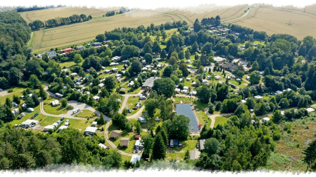 Camping-Mobilheimpark Muehlenteich von Oben1