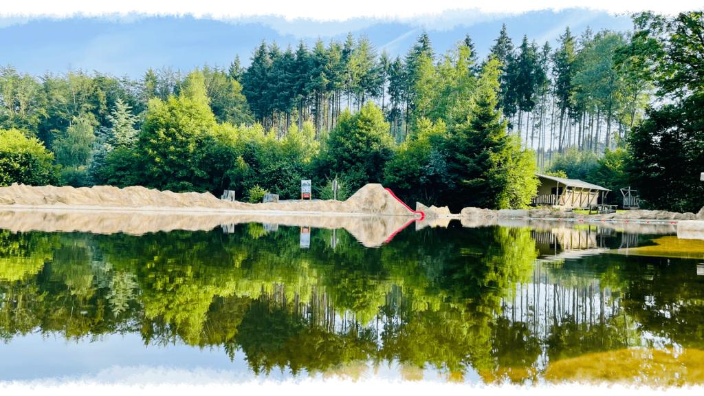 Camping-Mobilheimpark Muehlenteich von Oben2