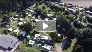 Camping-Mobilheimpark von Oben